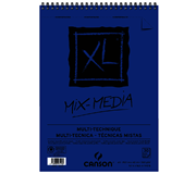 AQUARELBLOK CANSON XL MIX MEDIA SPIR A3 300GR 30V