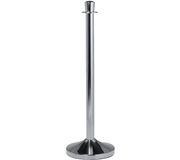 AFZETPAAL SECURIT CHROME 100CM INCL VOET 31CM