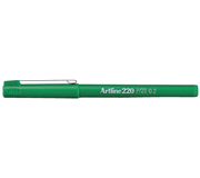 FINELINER ARTLINE 220 ROND 0.2MM GROEN