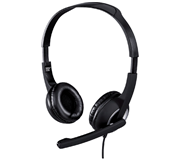 HEADSET HAMA HS-P150 PC ON EAR ZWART