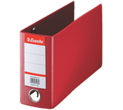 ORDNER ESSELTE GIRO-BANK 80MM PP ROOD
