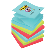 MEMOBLOK 3M POST-IT Z-NOTE S330 SUPER STICKY 76X76MM MIAMI