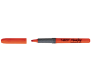MARKEERSTIFT BIC GRIP ORANJE
