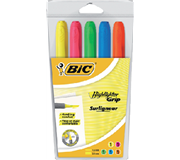 MARKEERSTIFT BIC GRIP ASS