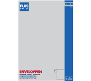 ENVELOP PLUS OFFICE AKTE C4 229X324 120GR ZK WIT