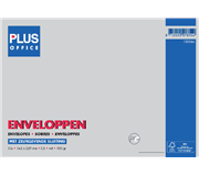 ENVELOP PLUS OFFICE AKTE C5 162X229 100GR ZK WIT