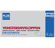 ENVELOP PLUS OFFICE VENSTER VR EA5/6 110X220 80GR ZK
