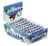 BOUNTY SINGLE MELK 57GR