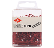 PAPERCLIP LPC 28MM ROOD