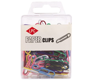 PAPERCLIP LPC 28MM ASSORTI