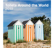 KALENDER 2019 TENEUES TOILETS AROUND WORLD 30X30CM