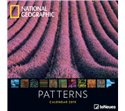 KALENDER 2019 TENEUES NAT GEO PATTERNS 30X30CM