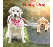 KALENDER 2019 TENEUES ART&IMAGE FUNNY DOG 30X30CM