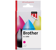 INKCARTRIDGE QUANTORE BRO LC-1000 ROOD