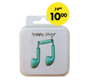 HEADSET HAMA HAPPY PLUGS EARBUD IN EAR KOBALT