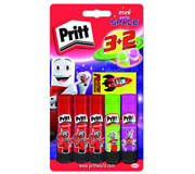 LIJMSTIFT PRITT 11GR INTO SPACE 3+2 NEON