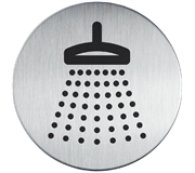 INFOBORD PICTOGRAM 83MM DURABLE DOUCHE