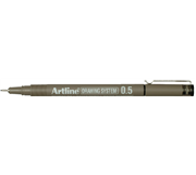 FINELINER ARTLINE 0.5MM ZWART