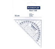 GEODRIEHOEK STAEDTLER 568 160MM