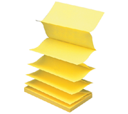 MEMOBLOK 3M POST-IT Z-NOTE R350 GEEL